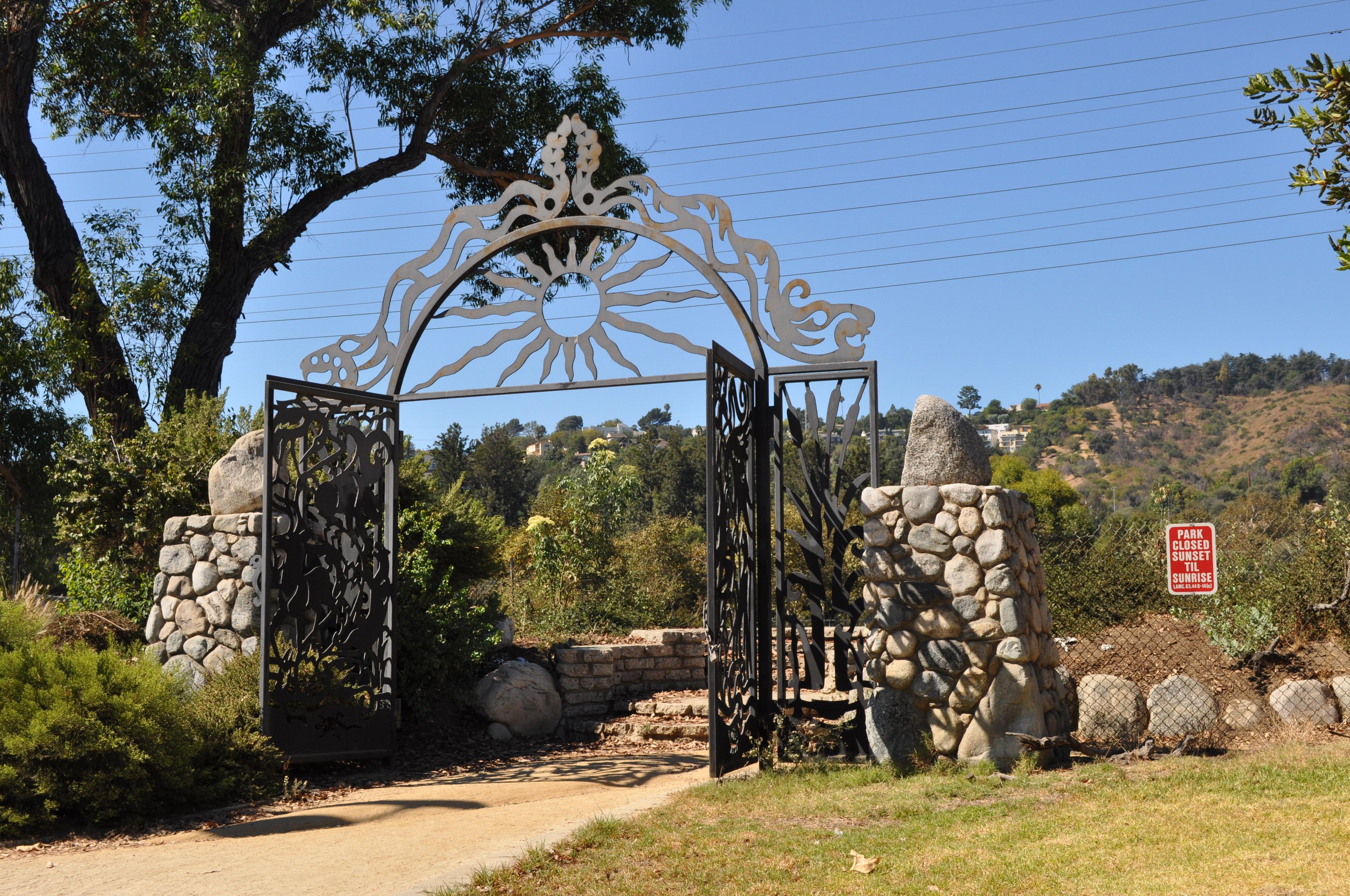la river gate