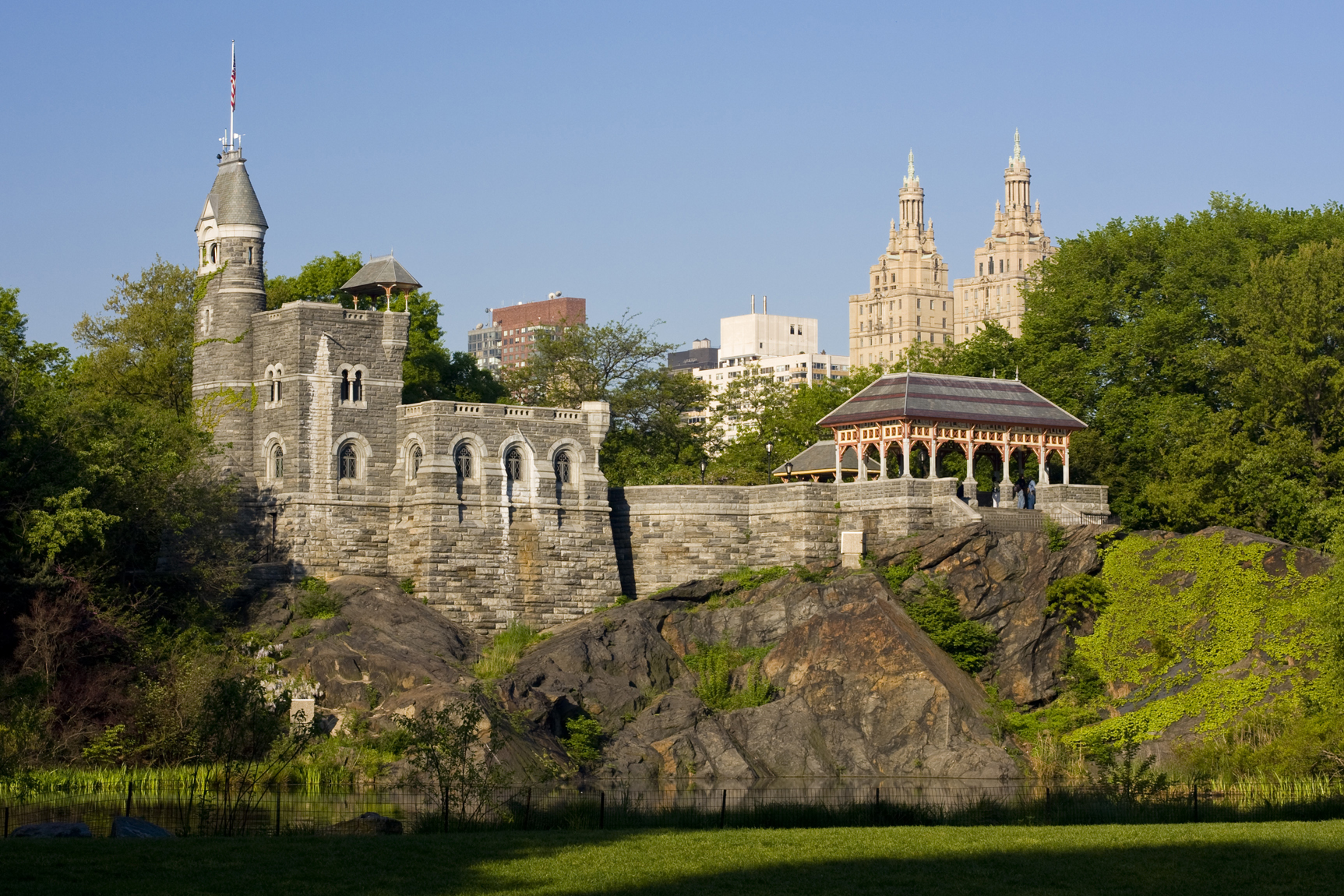 belvedere castle new york destination wedding